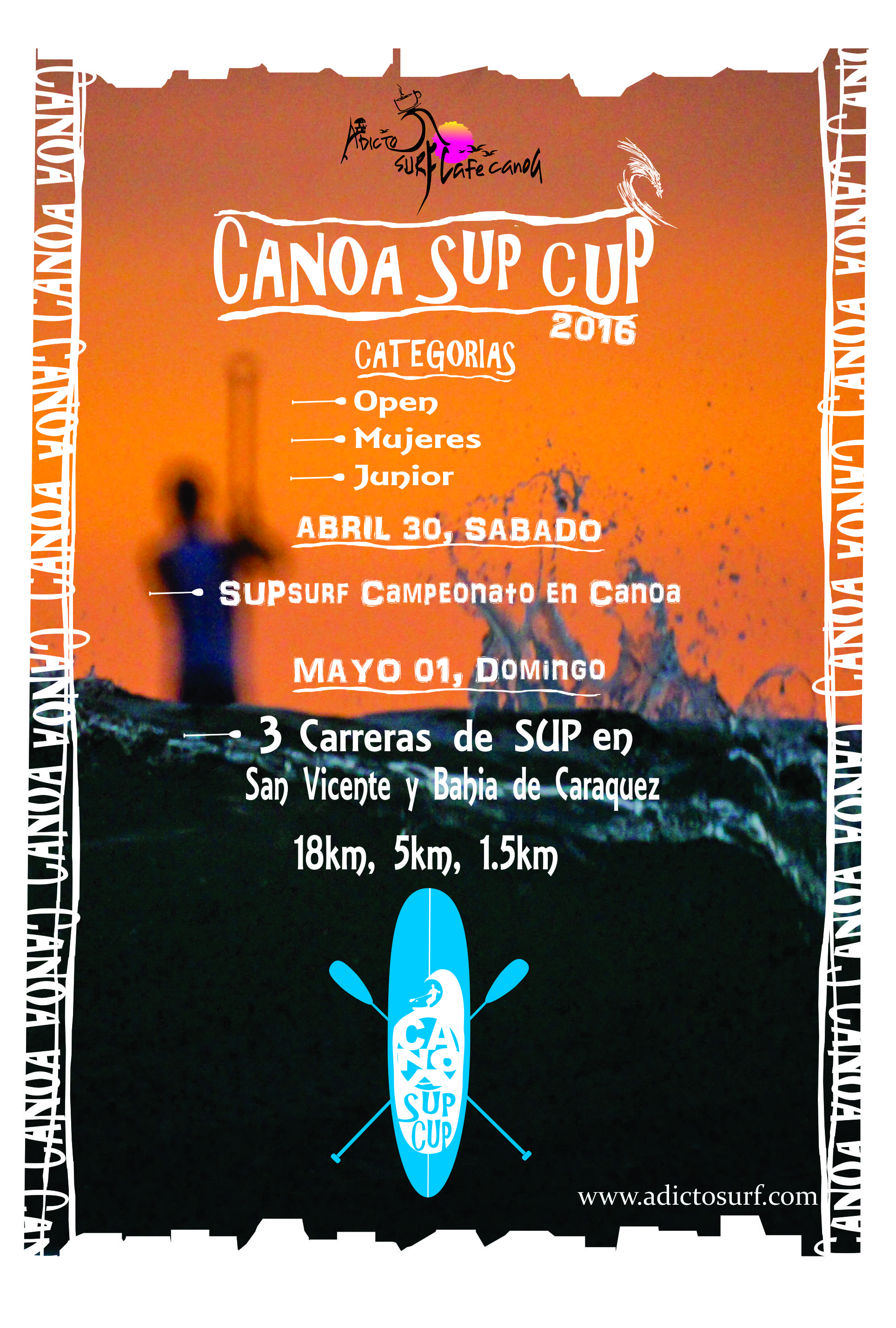 canoa sup cup